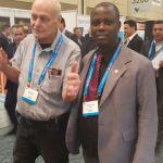 Bishop Amoo with Mr Michael Hibbard